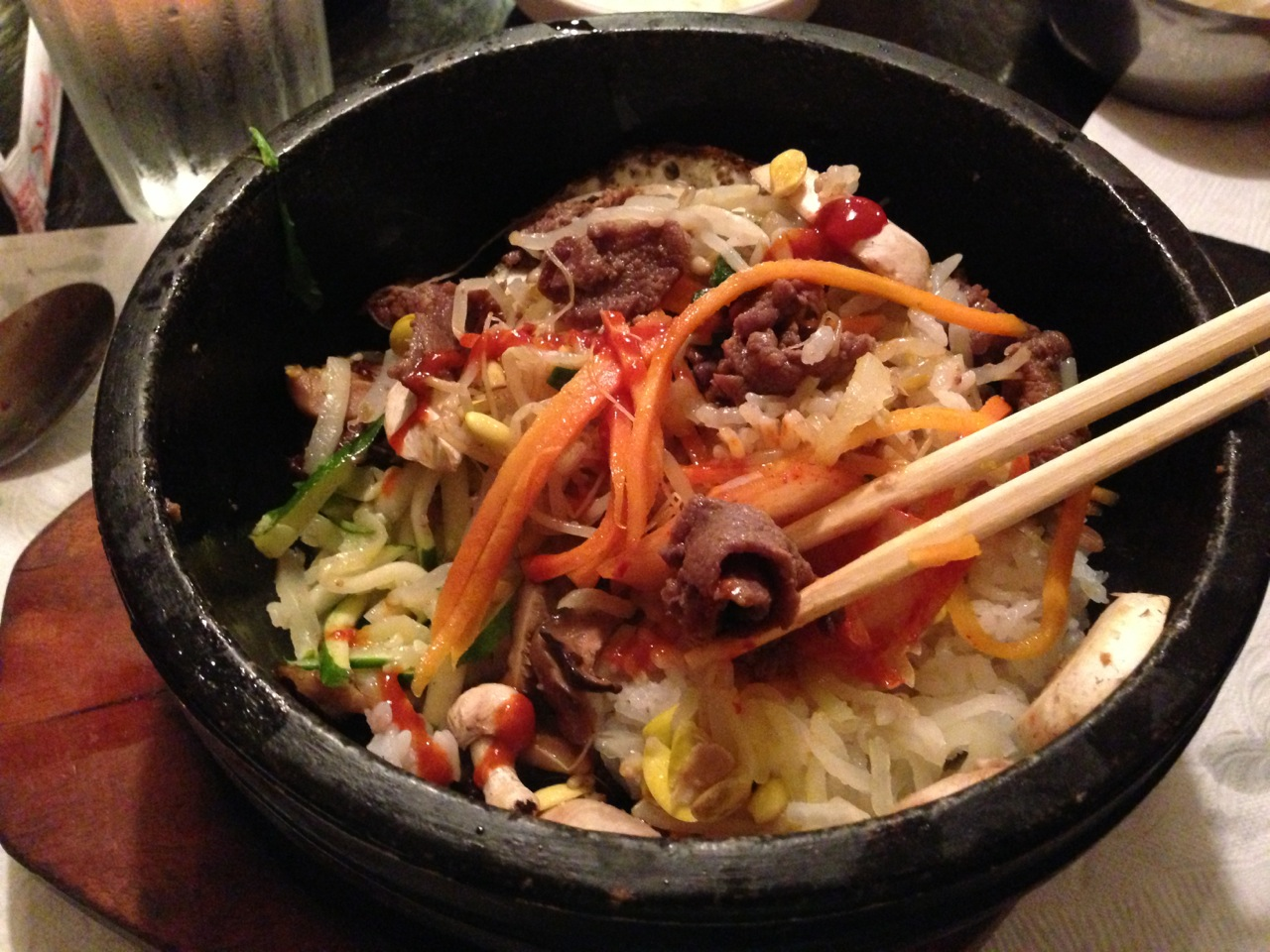 Bibimbap {a Korean bowl of yummy} + karaoke - Raisin & Fig