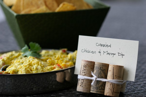 Curried Chicken Mango Dip