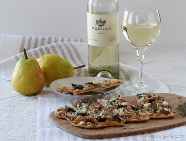 pear fig flatbread