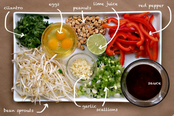 pad thai - kraft - ingredients