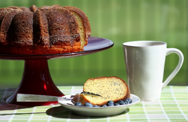 poppy seed cake - breakfast