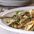 summer squash & red quinoa salad