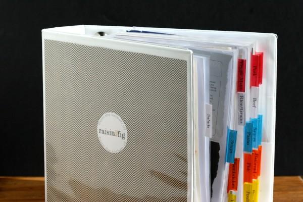 recipe org - notebook