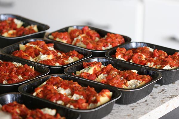 stuffed shelled - eight meals