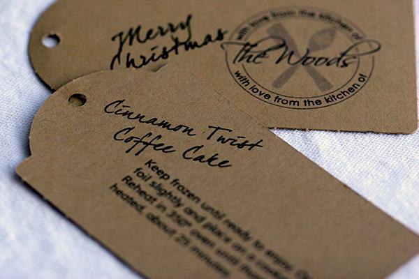 christmas goodies tags