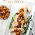 apple and cranberry turkey roulade