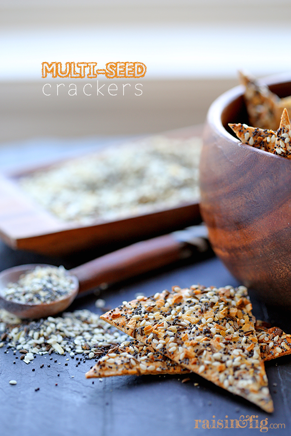 multi seed crackers