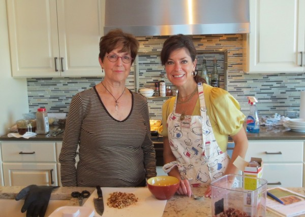This is me and my mom.  She's a fantastic cook.  I was kind of a late-bloomer in that department, but I'm trying my darndest to catch up!