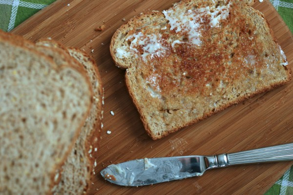 Buttered Wheat Toast2