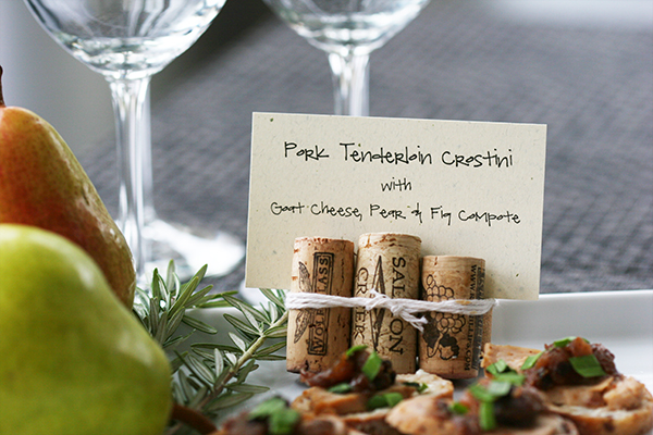 appetizer placecard