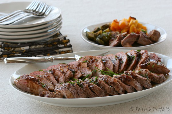 pork tenderloin - platter copy