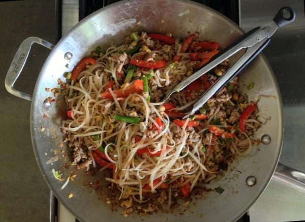 pad thai - wok