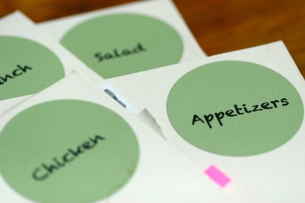 recipe org - folders