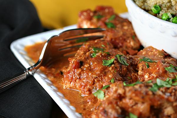 Indian Dinner Chicken Tikka Masala