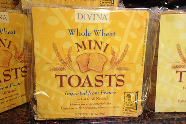 Pea Bruschetta Mini Toasts copy