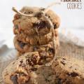 almond dark chocolate sea salt cookies