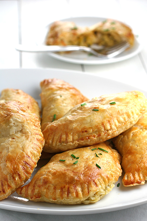 pear leek and gruyere turnovers