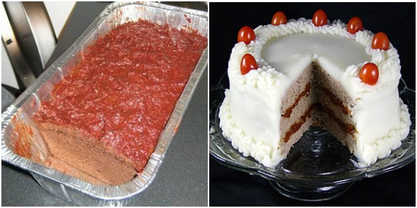 cake as meatloaf as cake