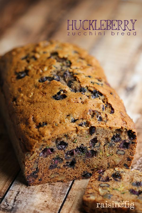 huckleberry zucchini bread