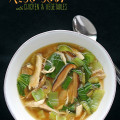miso soup with chicken and vegetables