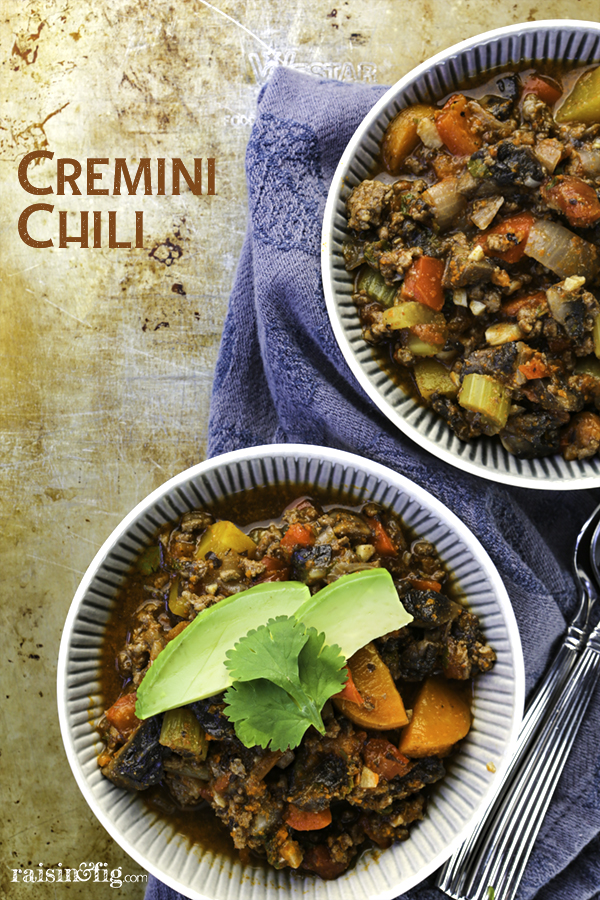 Cremini Chili